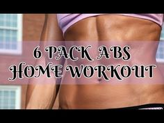 6 PACK ABS HOME WORKOUT/10 MIN/ PILATES - YouTube Hiit Workout At Home, At Home Workouts, Losing Weight Tips, Lose Weight, Flat Tummy Fast, 6 Pack Abs, Workout Pictures, Dumbbell Workout, Lower Abs