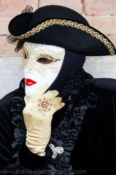 Karneval in Venedig Nr.3 von Mario Orth