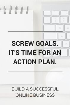 Screw dreams and goals in online business. You need an action plan! You need a strategy and a go-getter attitude to take action and turn your ideas into profit. Build a successful online business over here >>