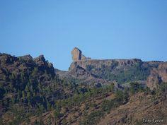 El reflejo de mi mirada: El Roque Nublo y su explanada