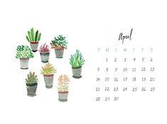 Free People April Calendar 2013