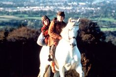 30 Irish Films You Need To Watch #refinery29 http://www.refinery29.com/2015/03/83720/best-irish-films#slide-8 Into The West (1992)'90s kids may remember this children's film about two young boys from a Traveller family on a magical journey to recover their horse. Gabriel Byrne and Ellen Barkin star, but the boys steal the show.