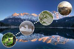 Mit der Bergbahn kommt jeder in sieben Minuten auf die Zugspitze – sogar in Flipflops und Kleidchen. Wer zu Fuß auf den höchsten Berg Deutschlands aufsteigt, braucht sieben bis acht Stunden – dafür erlebt er den Berg in seiner ganzen Schönheit.
