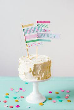 'It's a Party' Felt Confetti – Shop Sweet Lulu