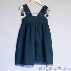 robe doublée tule