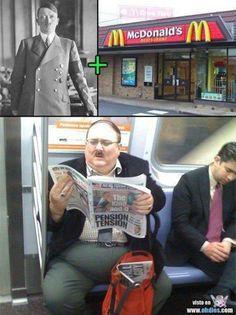 Fasist + Mcdonalds =.... lol!