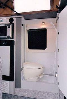 Sportsmobile Custom Camper Vans - Baths