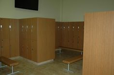 New Lockers, Flooring, and Benches Benches, Lockers, Evolution, Divider, Flooring, Fitness, Room, Furniture, Home Decor