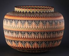 Rainforest Basket | Masterworks Reserve Collection, Wounaan Hösig Di Gallery