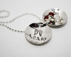 Angel babies locket for multiple losses