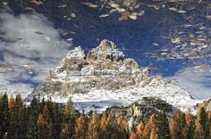 Dolomites reflected in Antorno lake Photo by Stefano Oppioni — National Geographic Your Shot