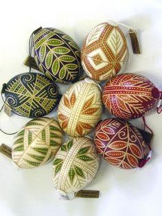 Julekugler: malede æg
