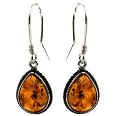 Sterling Silver Amber Classic Teardrop Earrings Graciana. $24.98. Traditionally our designs manufactured in silver and amber. All amber jewelry designs are from Eastern Europe. Save 55%!