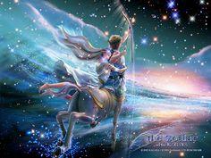 Sagittarius~ Kagaya  http://www.wallcoo.net/paint/kagaya_the_zodiac/Kagaya_zodiac_art_SAGITTARIUS1.html