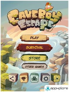 So in this post i've gathered 20 awesome UI design examples from mobile games for your design inspiration. Ui Ux Design, Game Logo Design, 2d Game Art, Video Game Art, Portfolio Design, Design Websites, Survival Store, Website Templates, Gui Interface