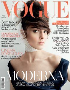 Vogue Portugal April 2013 Kati Nescher by Patrick Demarchelier