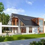 Contemporary Open Concept House Plan