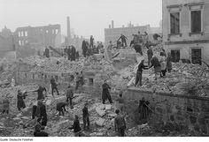 Bombing of Leipzig in World War II Destruction, World War Ii, Wwii, Germany, The Originals, Painting, Leipzig, History, World War Two