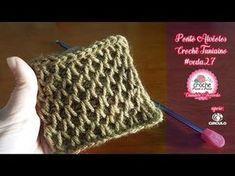 Curso Crochê Passo a Passo: http://crochepassoapasso.com/ Página Oficial: https://www.facebook.com/deteateliearteecostura/ Playlist Crochê Tunisiano: https:/...