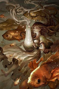 The Fish by Kyoung Hwan Kim  •  Tahraart.com  • Facebook