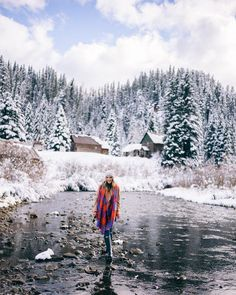 In a winter wonderland #colorado #duntonhotsprings #gmgtravels #snow #winterwonderland