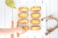 Pear & Carrot Mini Cakes - Baby Food Recipe