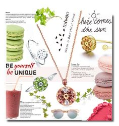 """""""Totwoo- Be yourself, be unique"""" by totwoo ❤ liked on Polyvore featuring Le Specs, WearableTech, totwoo and smartjewelry"""