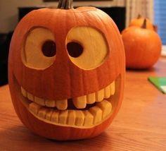 89 Pumpkin Decoration And Carving Ideas For Kids Halloween - Homeadzki Website Funny Pumpkin Carvings, Pumpkin Carving Contest, Pumkin Carving, Amazing Pumpkin Carving, Creative Pumpkin Carving Ideas, Minion Pumpkin Carving, Pumkin Ideas, Funny Pumpkins, Halloween Pumpkins