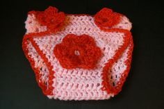 Crochet Baby Diaper Cover, Beautiful Diaper Cover. $10.00, via Etsy.