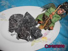 Come preparare il carbone dolce per l'Epifania :)