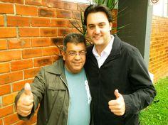 Recebi o importante apoio do amigo Toninho da Farmácia, vereador eleito com mais de 9 mil votos na CIC. Curitiba de cara nova, venha fazer parte da campanha das #novasideias. #onda20