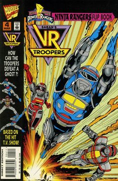 Vr Troopers, The Trooper, Superhuman Samurai Syber Squad, Comic Book Covers, Comic Books, Steve Ditko, Mighty Morphin Power Rangers, Classic Comics, I Fall In Love