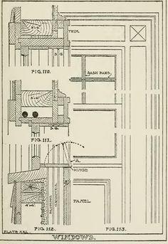 section drawings of doors \u0026 windows