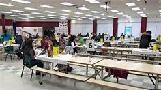 Radio Canada  |  12 janvier 2014  |  Grippe saisonnière : près de 1000 personnes se sont fait vacciner à Ottawa.  |  Photo :  Radio-Canada  Un centre de vaccination à Ottawa.