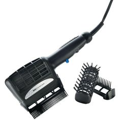 Conair tourmaline is a combo system haircare tools. A bristle brush has wide tooth comb for making your hair tangle free. It has dual rows of tourmaline ceramic buttons in Conair's Infiniti Pro hairstyle.