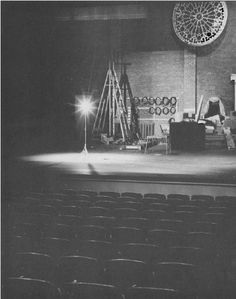 Only a Thespian knows the comfort of a Ghost Light... I really wish we had the Ghost Light at Kickapoo.... I miss it