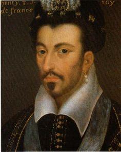 Henri III, école française du 16°s, chateau de Plessis les tours