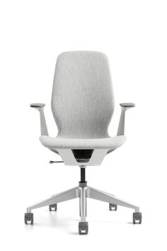 Steelcase's SILQ chair features a material performing like carbon fiber. Want this! via design boom