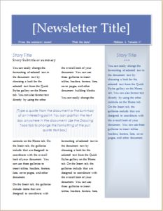 Coupon Template For MS Word DOWNLOAD At Httpworddoxorghowto - Daily newsletter template