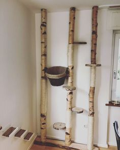 Our project is finally finished and we are looking forward to … Katzen - katzen - DIY cats scratching post! Our project is finally finished and we are looking forward to Katzen - Diy Cat Scratching Post, Diy Cat Tree, Cat Trees, Cat Hacks, Cat Playground, Cat Enclosure, Cats Diy, Cat Room, Cat Decor