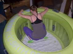 BIRTH POOL POSITIONS | Triad Birth Doula- This is cool. I dont think I will ever have another water birth but good article to have