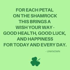 shamrock greeting patricks day wishes messages St. Picture Quotes, Love Quotes, Funny Quotes, Wishes For You, Day Wishes, Press Your Luck, St Patricks Day Quotes, Irish Proverbs, Irish Quotes