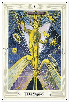The Magus, the Magician, signifies the magical force or power, that energy which the quester uses to propel him or herself ever-forward on the quest. The Priestess is the 'other' energy. Once the Magus and Priestess forces are combined, the quest is ended, because the 'healing' of the merger would be a state of occult spiritual perfection.