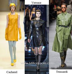 Cacharel, Versace, Trussardi  Fall/ Winter 2012/ 2013 Fashion Trends