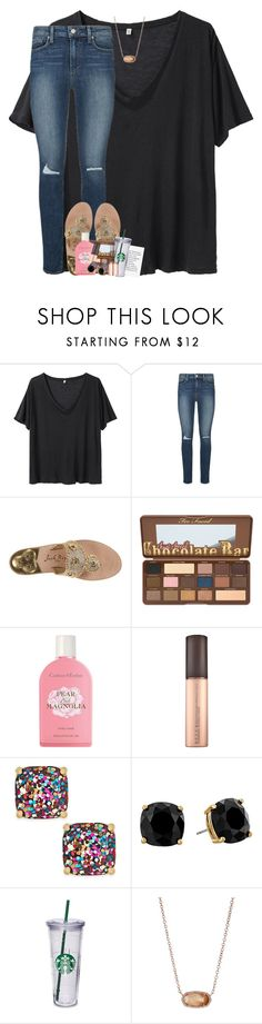 """""""& it hurts, it really really hurts"""" by theblonde07 ❤ liked on Polyvore featuring R13, Paige Denim, Jack Rogers, Crabtree & Evelyn, Kate Spade, Kendra Scott and Tom Dixon"""