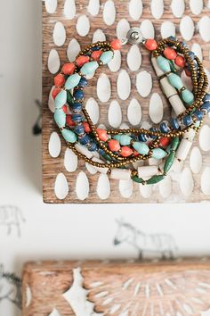 The @31bits Fall + Winter Collection | The Calico bracelet #31bits #fashionforgood