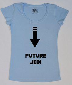 Star Wars maternity shirt future Jedi by geeklingdesigns on Etsy, $32.00