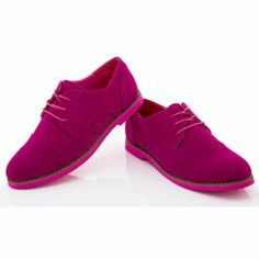 We've seriously got some great Oxford shoes on the site: Rasolli Women's Molly Oxfords in Fuschia, $9 for the pair!