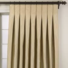 Taffeta stripe inverted pleat panel - traditional - curtains - other metro - by Ethan Allen Pinch Pleat Curtains, Pleated Curtains, Plain Curtains, Purple Curtains, Drapes And Blinds, Drapery Panels, Window Coverings, Window Treatments, Hall Interior