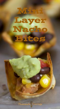 Mini Layer Nacho Bites